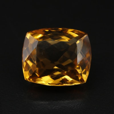 Loose 21.75 CT Citrine