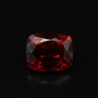 Loose 8.10 CT Rectangular Hessonite