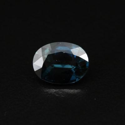 Loose 1.74 CT Laboratory Grown Sapphire