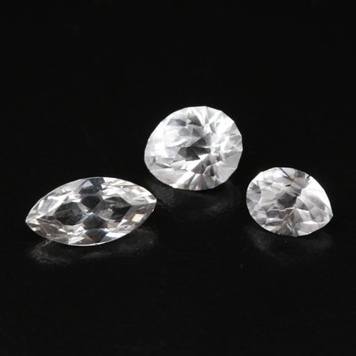 Loose Lab Grown 6.99 CTW Sapphires