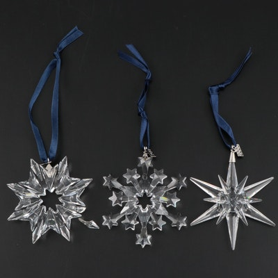 Swarovski Crystal Christmas Ornaments, 2003–2005