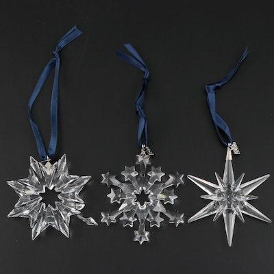 Swarovski Crystal Christmas Ornaments, 2003–2005