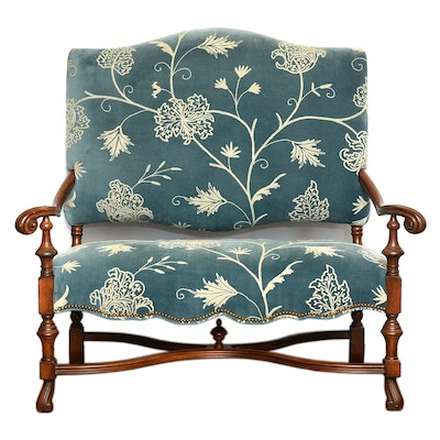 East End Interiors Highback Settee