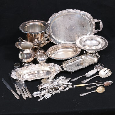 Baroque Style Silver Plate Serveware