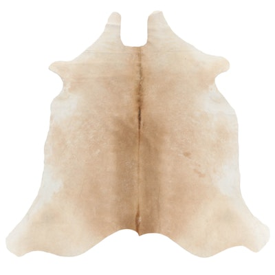 6'0 x 7'8 Natural Cowhide Area Rug