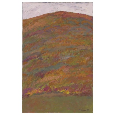 Jerald Mironov Abstract Oil Painting, 2007