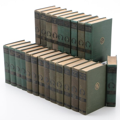 """The Complete Works of Mark Twain"" Authorized Edition Near Complete Set, 1920s"