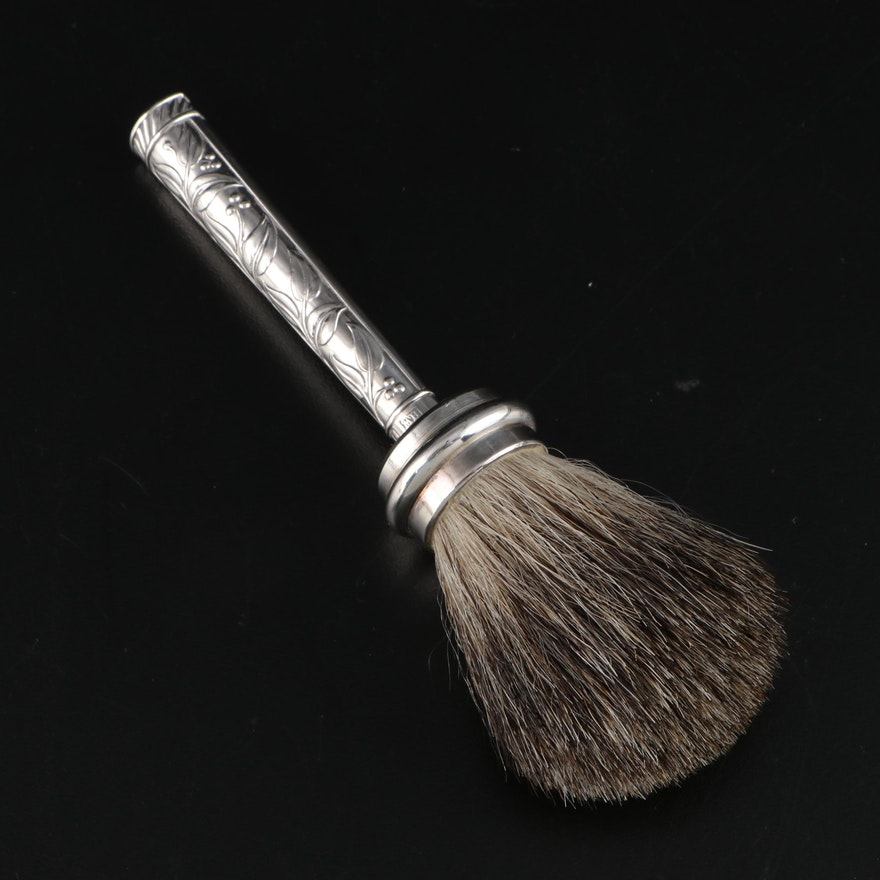 Victorian Lee & Wigfull Sterling Silver Handled Brush, 1900