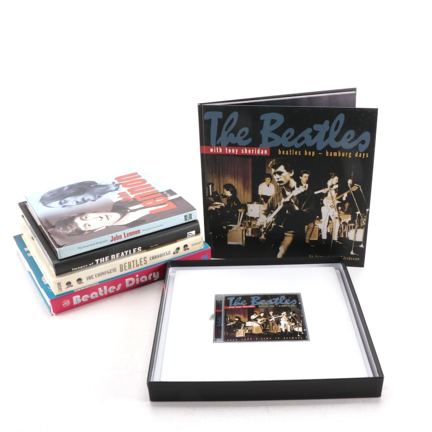 The Beatles Biographical and Photographic Books