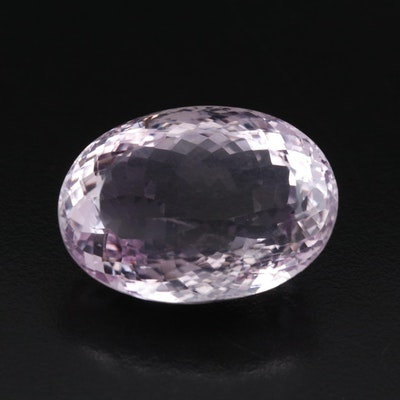 Loose 75.21 CT Oval Faceted Amethyst