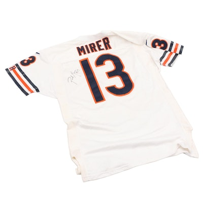 1997 Rick Mirer Signed Chicago Bears NFL Game Used Professional Football Jersey