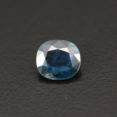Loose 1.19 CT Cushion Cut Sapphire