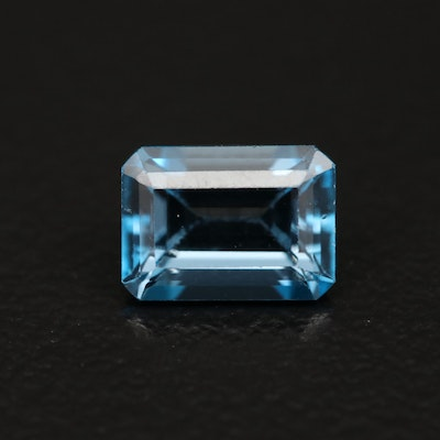 Loose 1.36 CTW London Blue Topaz