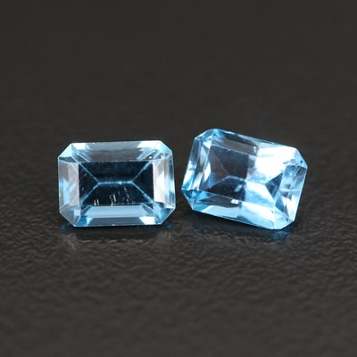 Loose 2.24 CTW Cut Corner Rectangular Topaz