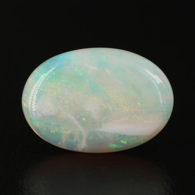 Loose 4.77 CT Oval Cabochon Opal