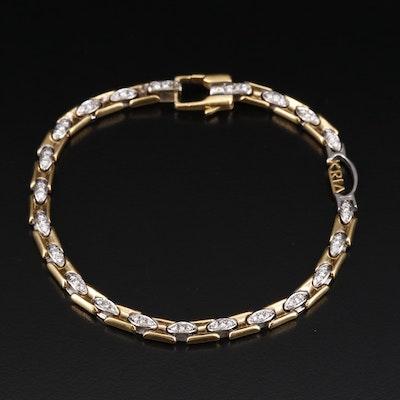 Kria Gioielli 18K Diamond Bracelet