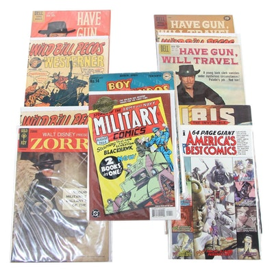 """""""Wild Bill Pecos"""", """"Ibis: The Invincible"""", """"Zorro"""", and Other Comics"""