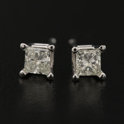 14K 0.49 CTW Diamond Stud Earrings