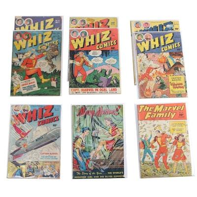 """""""Whiz Comics"""", """"Mary Marvel"""", and """"The Marvel Family"""" Comics"""