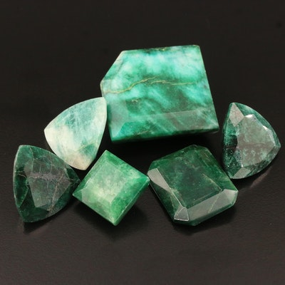 Loose Mixed Faceted Beryls