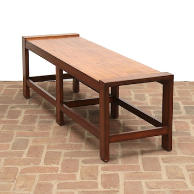 Palecek Grain Top Wood Bench