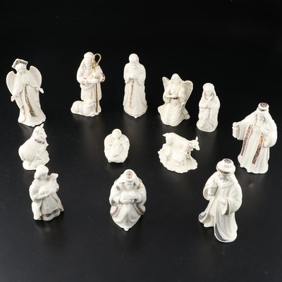 "Lenox ""China Jewels"" Porcelain Nativity Figurines, 1993–2007"