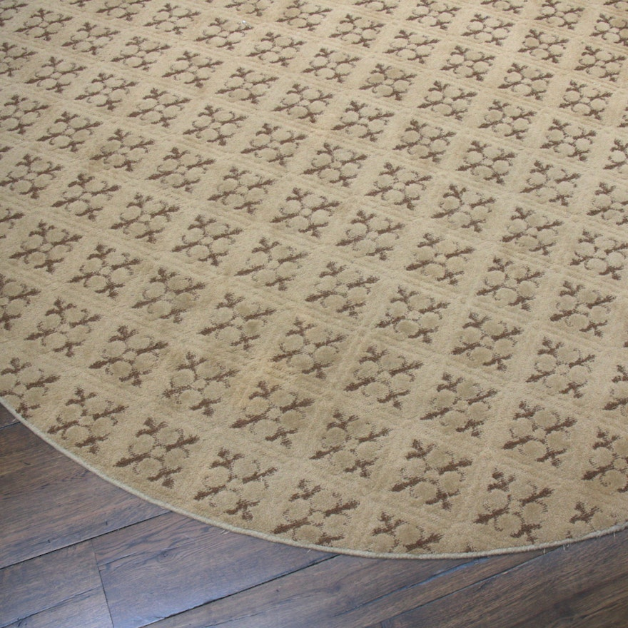 9'5 x 20' Hand-Tufted Oval Room-Size Rug