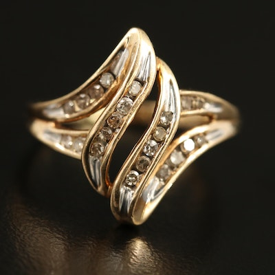 10K Diamond Ring