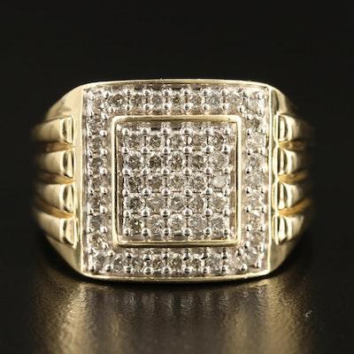 10K 1.14 CTW Diamond Ring
