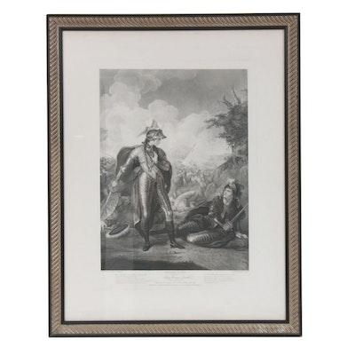 "Thomas Ryder Restrike Engraving Shakespeare's ""King Henry IV"", 19th Century"