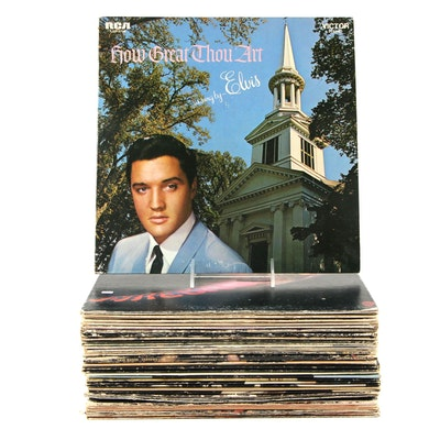 Elvis Presley, Styx, Dan Fogelberg, Foghat, Doobie Brothers, and Other Records