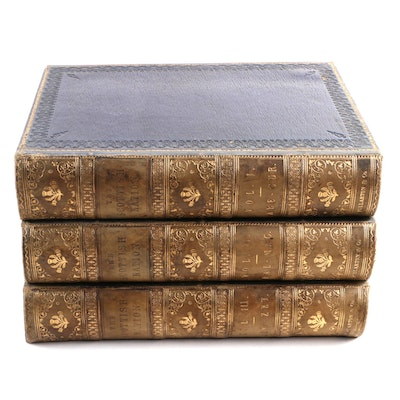 """The Scottish Nation"" Three-Volume Set by William Anderson, 1868"