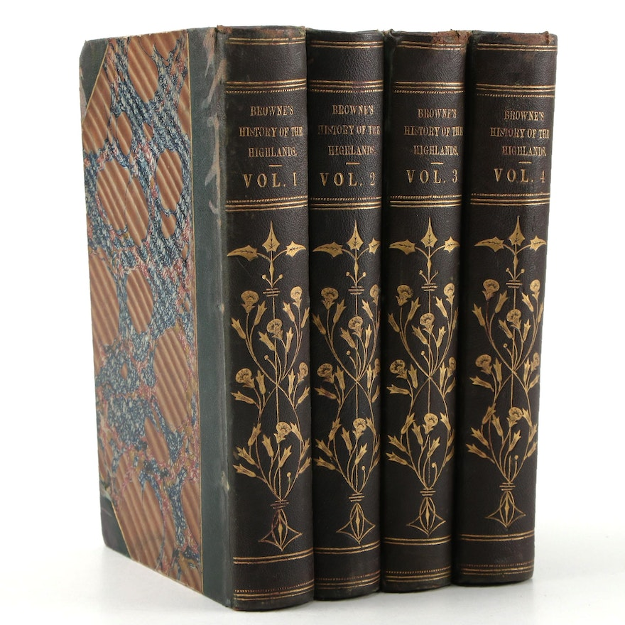"""""""A History of the Highlands, and of the Highland Clans"""" by James Browne, 1850–51"""