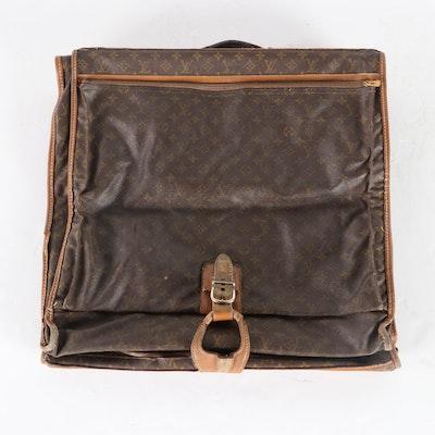 Louis Vuitton Monogram Coated Canvas Garment Bag