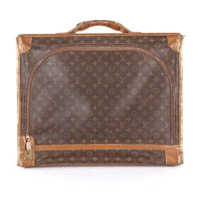Louis Vuitton Suitcase in Monogram Canvas