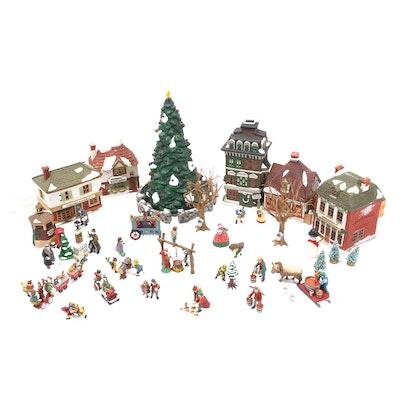 Department 56 Ceramic Heritage Village Christmas Décor