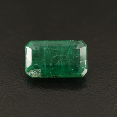 Loose 3.61 CT Emerald with GIA Report