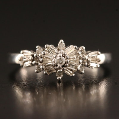 10K Diamond Ring