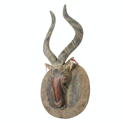 West African Antelope Mask, Late 20th to 21st Century