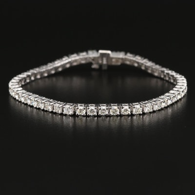 14K 4.75 CTW Diamond Line Bracelet