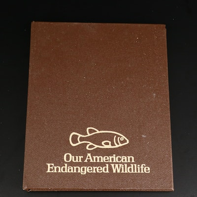 "1970 World Mint Sterling Silver ""Our American Endangered Wildlife"" Rounds"