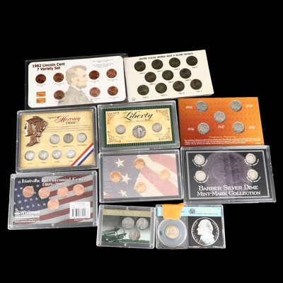 Ten Commemorative Encapsulated Coin Sets