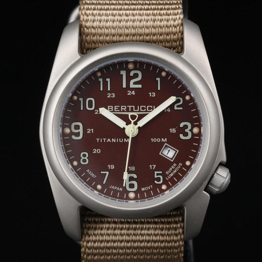 Bertucci A-2T Titanium Wristwatch