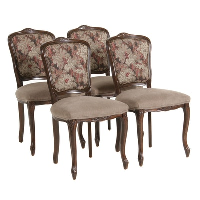 Louis XV Style Side Chairs, Late 20th Century