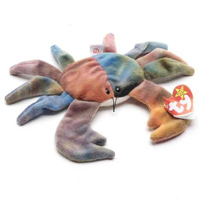 "Beanie Baby ""Claude"" with Tag Misprints"