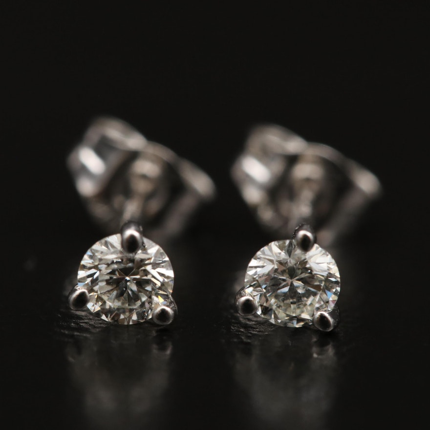 14K Martini Set 0.23 CTW Diamond Stud Earrings