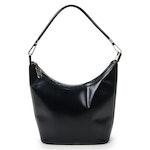 Gucci Shoulder Bag in Black Leather