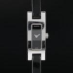 Gucci 3900L Stainless Steel Quartz Wristwatch