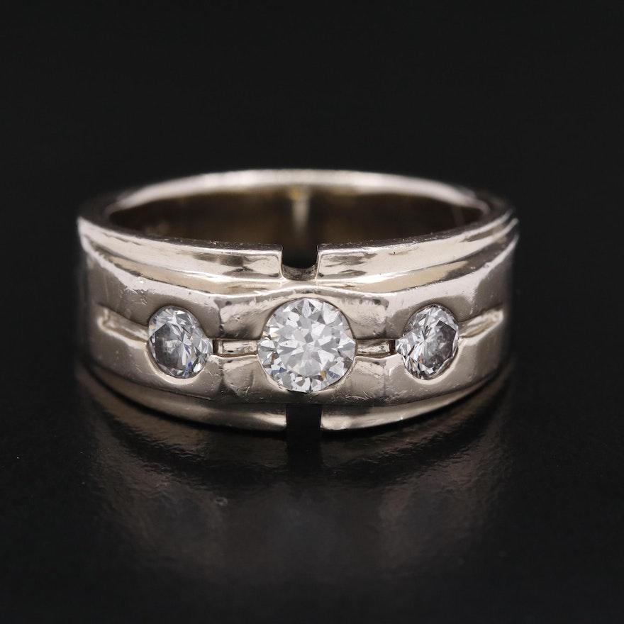 14K 1.16 CTW Diamond Ring