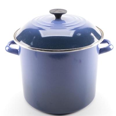 Le Creuset Indigo Blue Enamel Stockpot